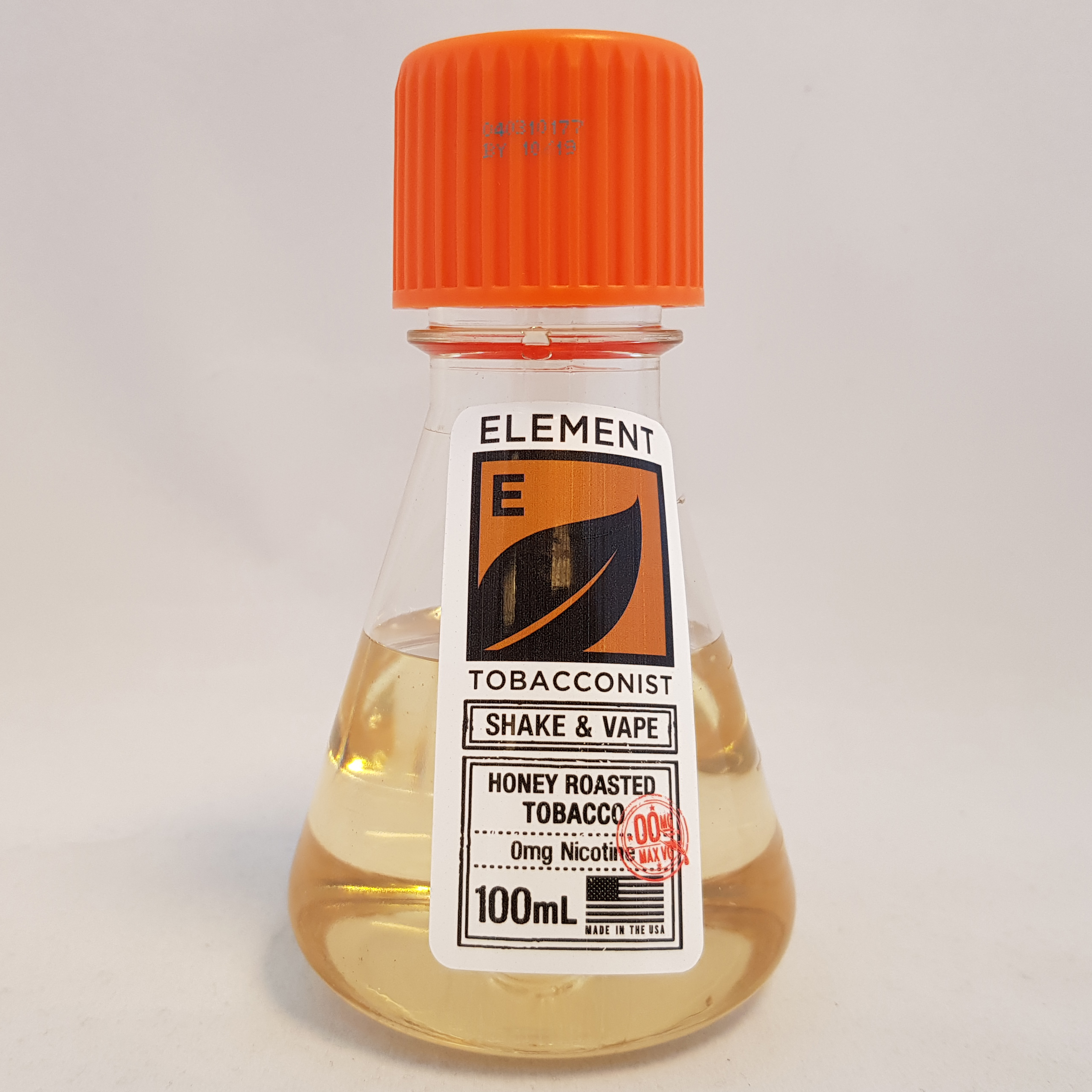 Element-honey-roasted-tobacco-100mL-flask